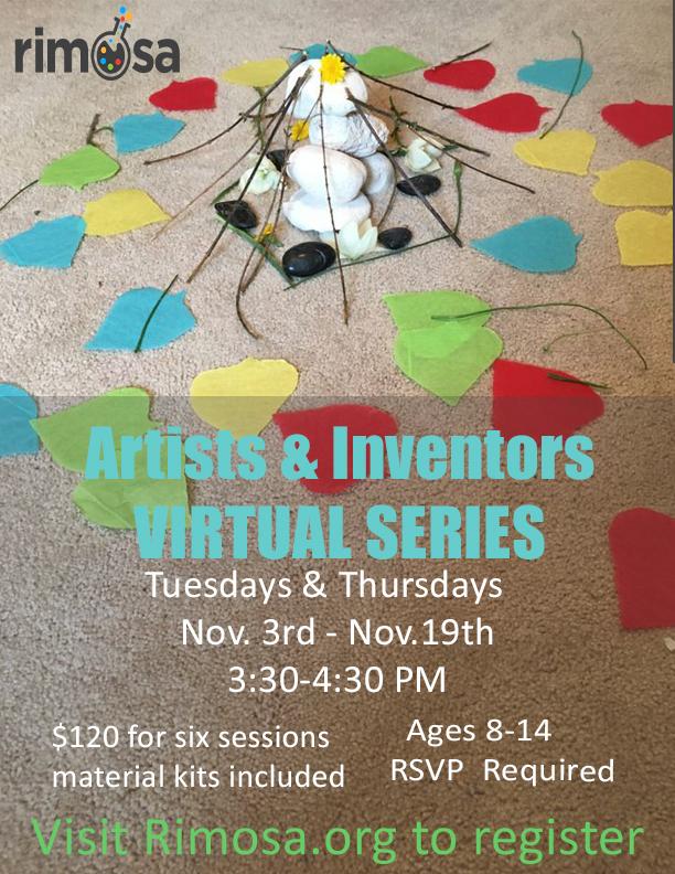 RIMOSA Artists & Inventors Virtual Series